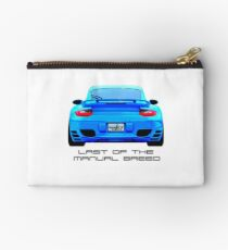 Last Manual - 997 Turbo (997.2) Inspired  Zipper Pouch