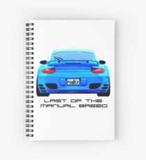 Last Manual - 997 Turbo (997.2) Inspired  Spiral Notebook