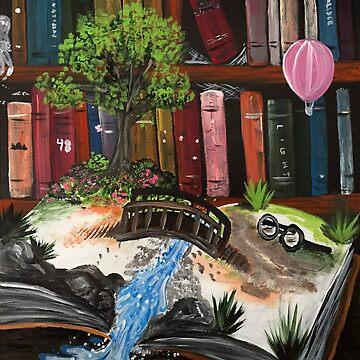 Book Experience  by Adamzworld