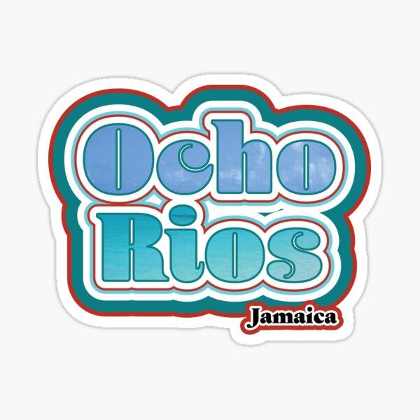 Ocho Rios, Jamaica Sticker