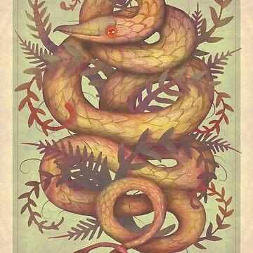 The Fern Viper by vladimirsart
