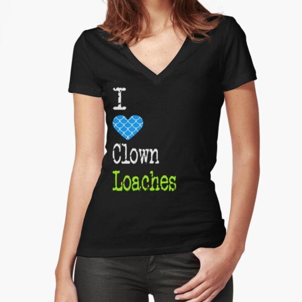 Clown Loach Love Tropical Fish T Shirt Lady-Fit
