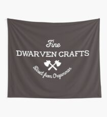 Fine Dwarven Crafts, Direct from Orzammar Wall Tapestry