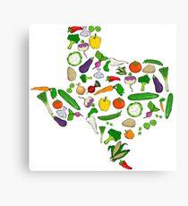 Farm Fresh Texas Canvas Print