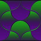 Oh Gee! Purple/Green by Etakeh