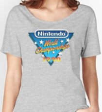 Video Game World Championships 1990 Women's Relaxed Fit T-Shirt