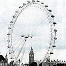 Big Ben in the London Eye by Jonicool