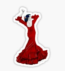 Flamenco Dancer Sticker