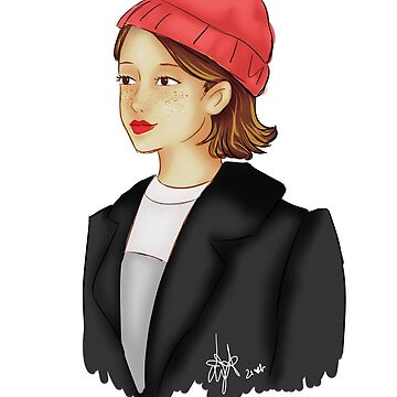 Hat girl by liajung