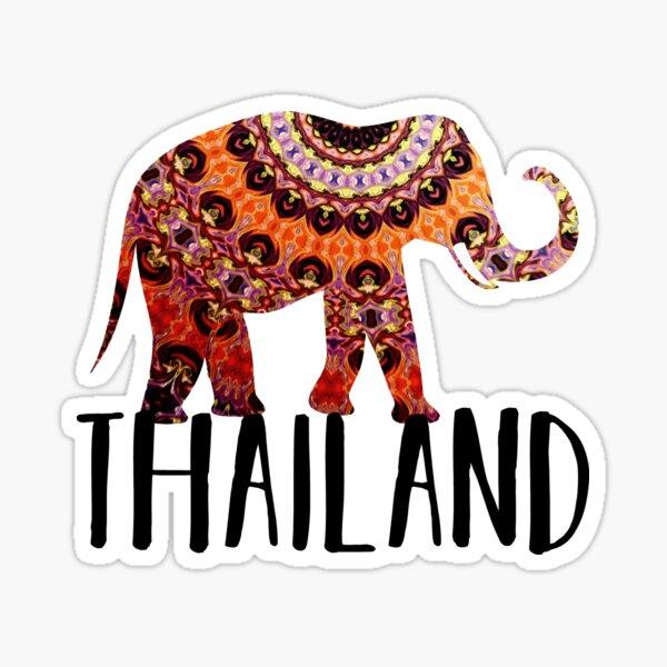 Thailand Trip Souvenir  Sticker