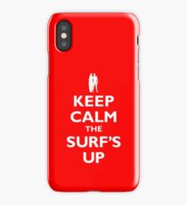KEEP CALM THE SURF'S UP iPhone Case