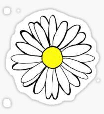 daisy drawing Sticker
