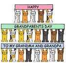 Happy Grandparents Day Grandpa and Grandma. by KateTaylor