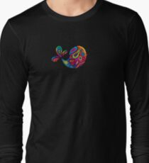 Rainbow Bird  Long Sleeve T-Shirt