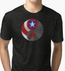 Winter Cap Yin Yang Tri-blend T-Shirt