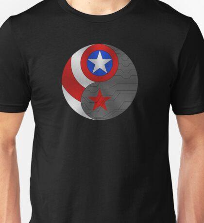 Winter Cap Ying Yang Unisex T-Shirt