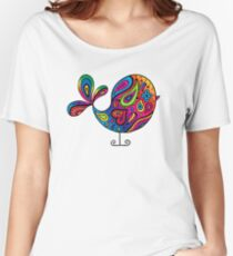 Big Rainbow Bird Women's Relaxed Fit T-Shirt