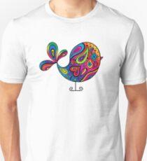 Big Rainbow Bird Unisex T-Shirt