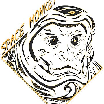 Space Monkey (Gold) de FejuLegacy