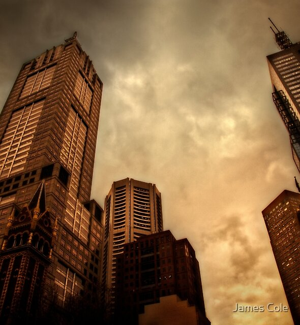 Monoliths of Melbourne by James Cole