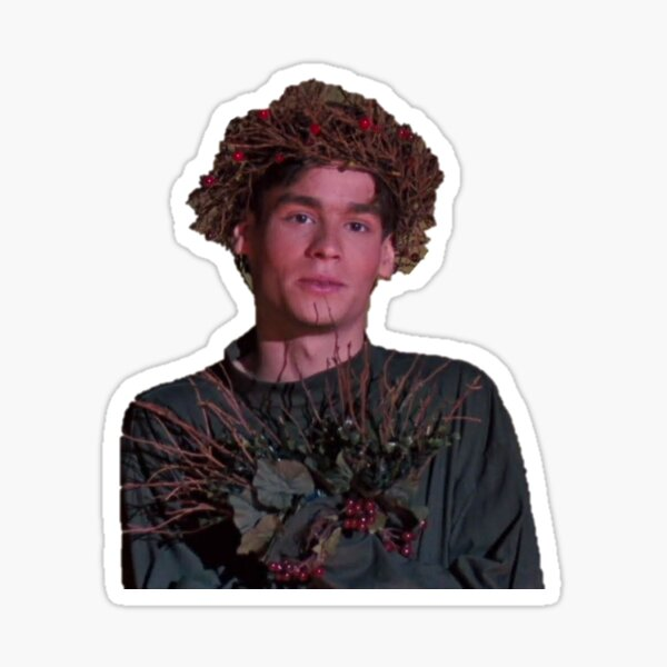 Neil Perry Dead Poets Society Puck Sticker Sticker
