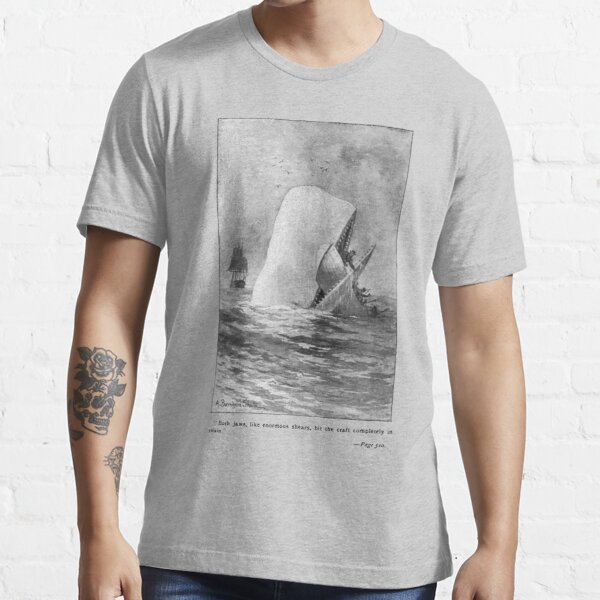 Moby Dick Herman Melville Original Illustration Essential T-Shirt