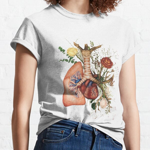 ♡ flower lung ♡ Classic T-Shirt