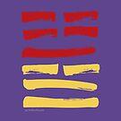 54 Subordinate I Ching Hexagram by SpiritStudio