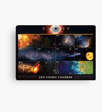 Cosmos: Possible Worlds  — Cosmic Calendar [2019] ⛔ HQ quality Canvas Print
