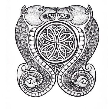 Kilduncan Pictish Symbol by lowcr
