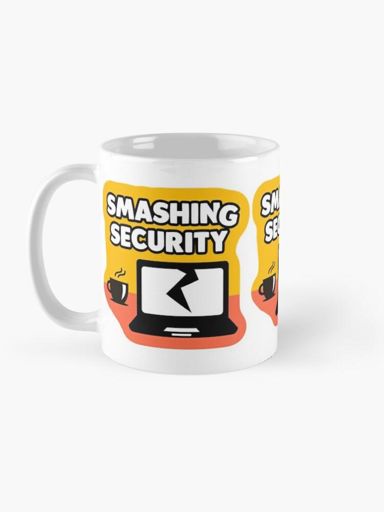 Alternate view of Smashing Security Mug