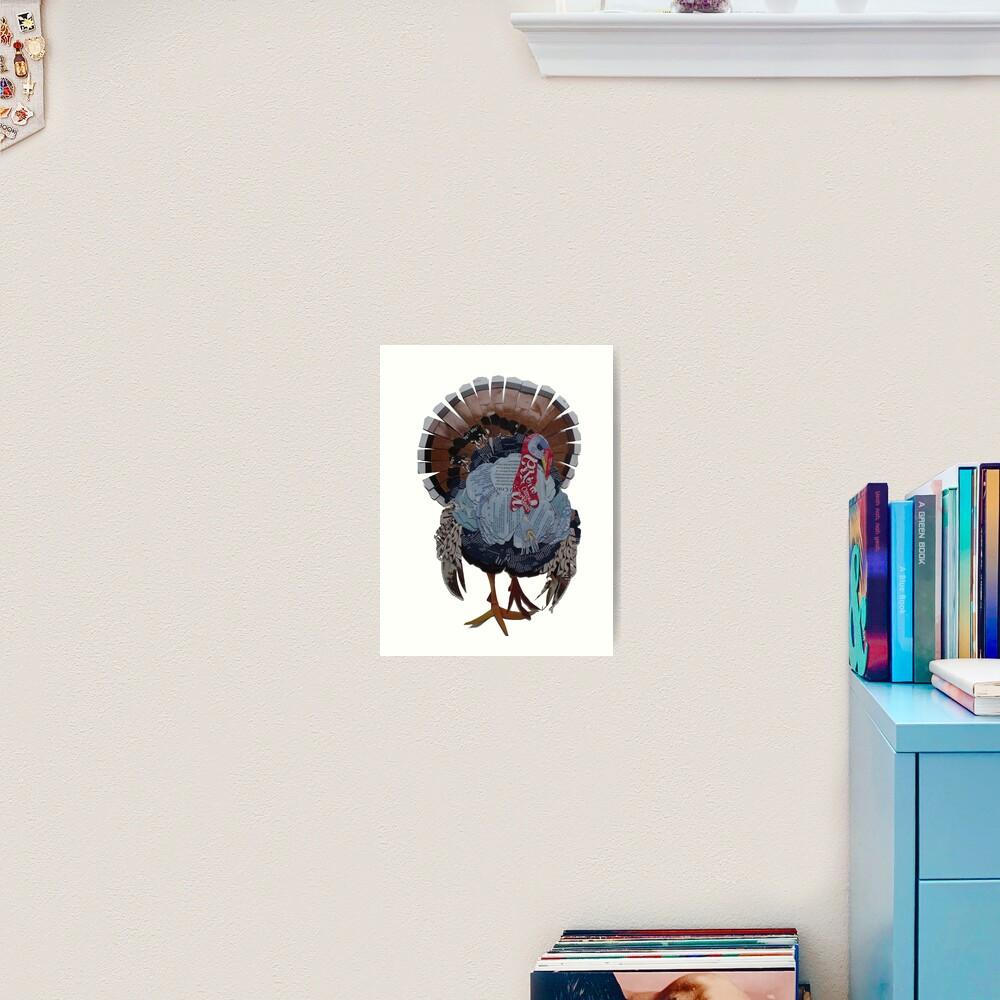 Proud Turkey Art Print