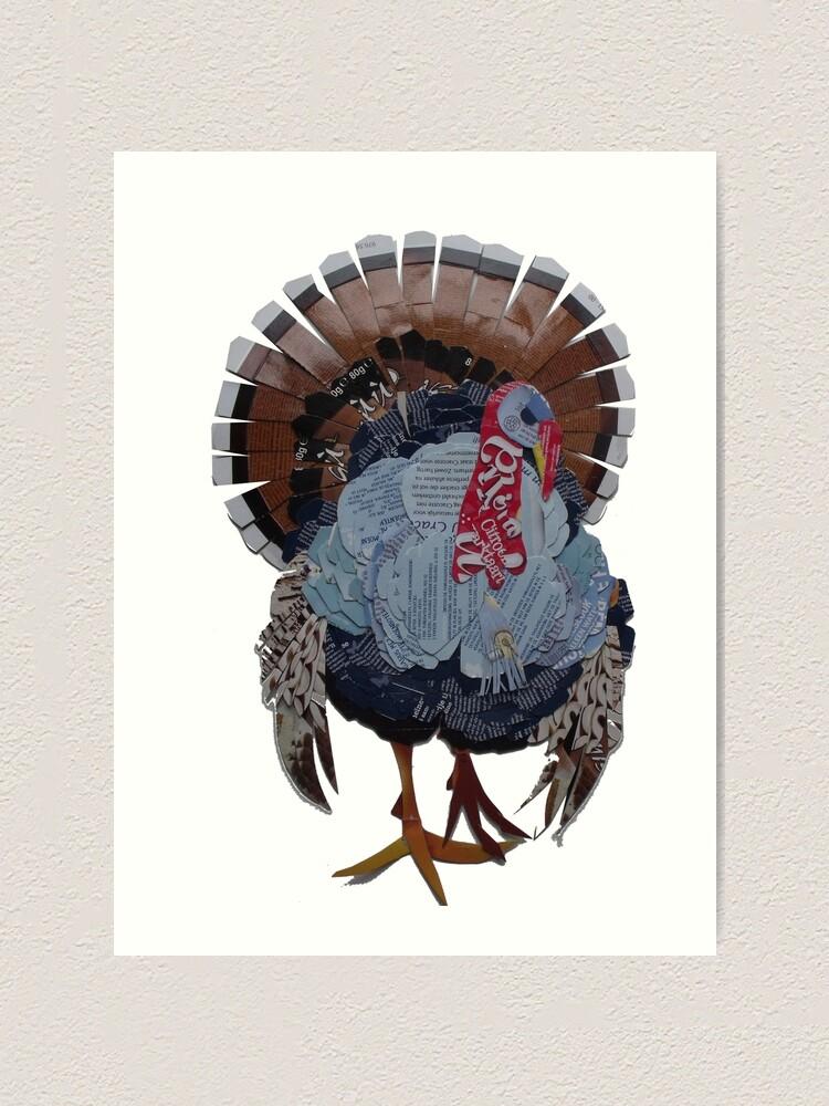 Alternate view of Proud Turkey Art Print