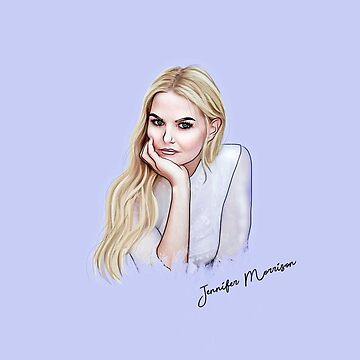 27. Jennifer Morrison Outline Design by HookedDuckling