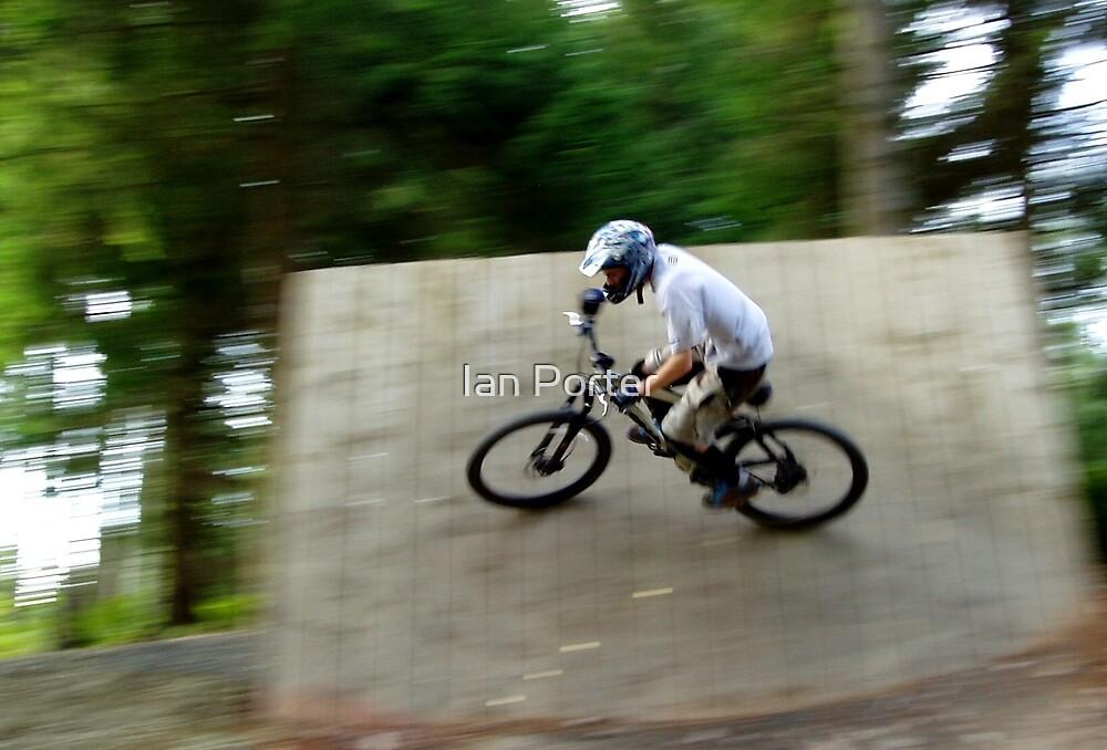 Mountainbike Rider by Ian Porter