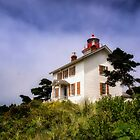 Yaquina Bay Lighthouse - Oregon by Kathy Weaver