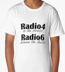 Radio4 on the streets Long T-Shirt