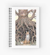 Fox Roots Spiral Notebook