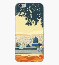 Weinlese-Reise-Plakatbesuch Palästina iPhone-Hülle & Cover