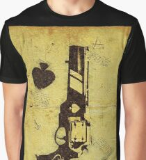 Old Poker Graphic T-Shirt
