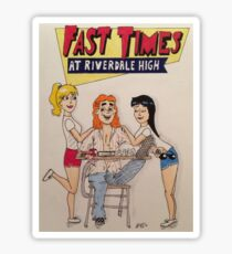 Fast Times at Riverdale High Sticker