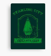 Starling City Vigilante Club 2 Canvas Print