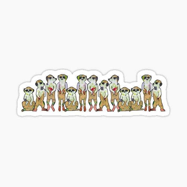 Meerkat Clan Sticker