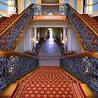1855 The Staircase by Hans Kawitzki