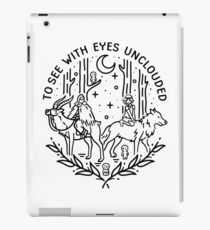 To See With Eyes Unclouded iPad Case/Skin
