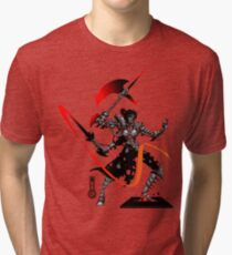 The Game of Kings, Wave Five: The Black Queen's Knight Tri-blend T-Shirt