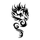 Tribal Dragon Tattoo 1 by kracov
