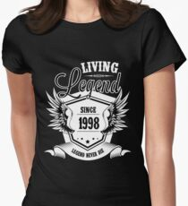 Living Legend Since 1998 Women's Fitted T-Shirt