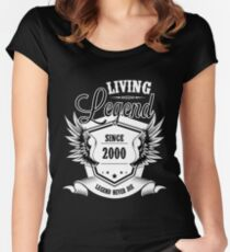 Living Legend Since 2000 Women's Fitted Scoop T-Shirt