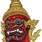 Thai Demon Red by Malchev